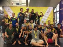 Final team performance: 25 Gold, 12 silver & 10 bronze medals